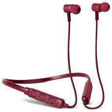 Band-it Cuffie Auricolari Sport Bluetooth con Neckband e Microfono e  Telecomando Integrati Colore Rosso a83a40a587da