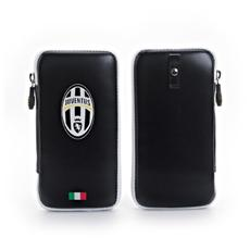 Juve Pu Case Zip Closure Black