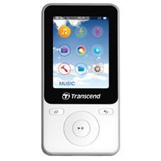 Lettore Digitale Portatile Bianco 8 GB TS8GMP710W