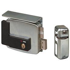 Serratura elettrica per cancello, entrata destra, 60 mm