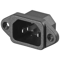 IADAP VDE-PAN-M1 - Connettore VDE da Pannello c / viti Maschio
