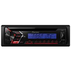 Autoradio 4 x 50W DEH-S100UBG Ingresso Aux / USB Colore Nero