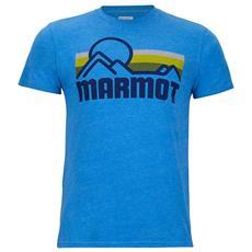 Magliette Marmot Coastal S / s Abbigliamento Uomo