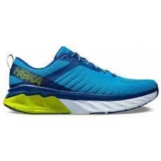 HOKA ONE ONE - Scarpe Uomo Running Arahi 3 A4 Taglia 11 - Colore  Blu    giallo db181ed5a6c