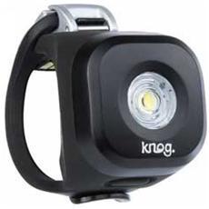 Luce Anteriore a LED Bianco per Bici Colore Nero