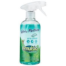 Vetri-multiuso Naturale Spray Mousse 500 Ml. Detergenti Casa