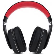 HF350 Nero, Rosso, Acciaio inossidabile Circumaurale Padiglione auricolare cuffia