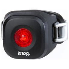 Luce Anteriore a LED Rosso per Bici Colore Nero