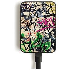 MC10 GRAFFITI Polimeri di litio (LiPo) 10000mAh Multicolore batteria portatile