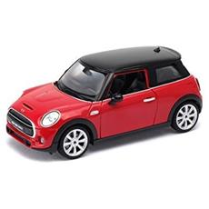 We4058r New Mini Cooper Hatch 2014 Red W / black Roof 1:24 Modellino