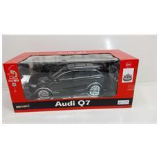 Auto 1:16 Audi Q7 Modellismo Nera Radiocomandata 27mhz