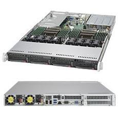 6018U-TRTP+, Intel C612, Socket R (LGA 2011) , Intel, 1U, Aspeed AST2400, Xeon
