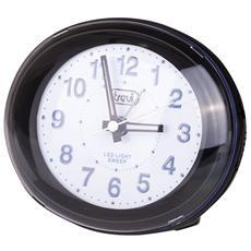 Orologio Sveglia Al Quarzo Sl 3052 Nero