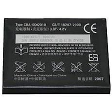 Batteria Telefono Cellulare Sony Mobile BST-39 - Dimensione batteria proprietaria - Ioni di litio (Li-Ion) - 3,6 V DC - Batteria ricaricabile