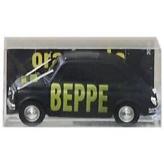 Bmbr027 Fiat 500 Beppe Ora Basta: Tutti A Casa! 1:43 Modellino