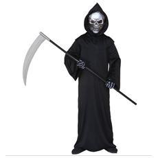 Costume Morte Teschio 140 Cm