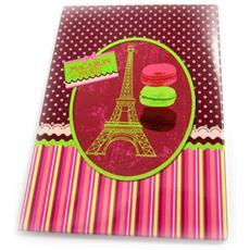 magnet 'macarons de paris' verde rosa - [ m1353]