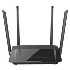 D-LINK - Router Wireless AC1200 Dual-Band 4 Porte Gigabit...