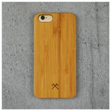 Cover in Legno per iPhone 6 / 6S Colore Bambù e Nero