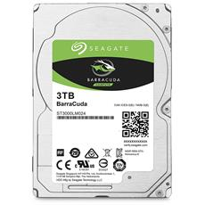 "Hard Disk Interno BarraCuda 3 TB Sata III 6 Gb / s 2.5"" Buffer 128 Mb 5400 rpm"