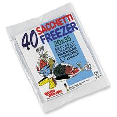 Freezer Busta 20x35 X 40 Pz - Avvolgenti E Sacchetti Alimenti