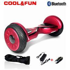 10 Pollici Hoverboard Smart Balance Monopattino Elettrico Pedana Scooter Bluetooth Due Ruote Jm Blu