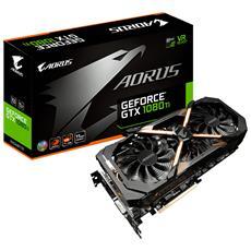 GIGABYTE - GeForce GTX 1080 Ti AORUS 11 GB GDDR5X PCI-E DVI-D...