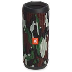 Speaker Wireless Portatile Flip 4 Bluetooth Colore Mimetico