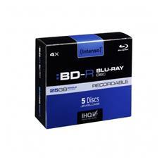 BD-R 25GB, 4x Speed - RECORDABLE, BD-R, Portagioielli