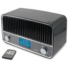 HFG409DBT, 3,5 mm, Orologio, FM, DAB+, 2.1+EDR, AC, Blu