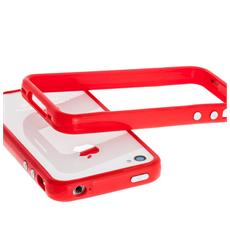 iP53036 Custodia con bordo Rosso