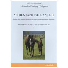 Quaderni di alimentazione del cavallo. Vol. 1: Alimentazione e analisi. L'utilità degli esami di laboratorio per una corretta pianificazione alimentare.