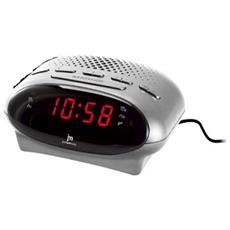 Eh50105n Nero Radiosveglia Fm A Filo Dual Al-