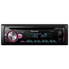 Autoradio 4 x 50 W DEH-S2000UI Ingresso Aux / USB Colore Nero