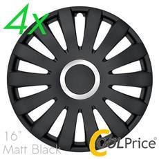 Copricerchi Auto Universali 16 Pollici C-139 Matt Black 31223