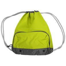 Athleisure Sacca A Spalla Idrorepellente (taglia Unica) (verde Lime)