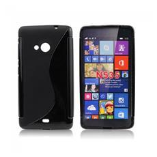 Cover S-Line Nero per Microsoft Lumia 535