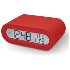 OREGON SCIENTIFIC - Orologio sveglia con radio OREGON RED