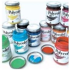 Colore Acrilico Polycolor Blu Primario-cyan 125 Ml