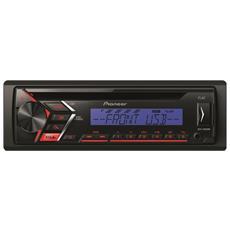 Autoradio 4 x 50 W DEH-S100UBB Ingresso Aux / USB Colore Nero