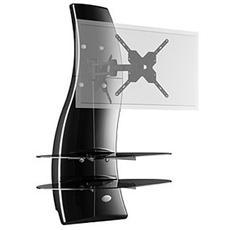 "Mobile TV Ghost Design 2000 Rotation LCD - PLASMA 32"" - 63"" Portata massima TV 30 kg Colore Carbonio"
