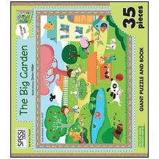 The big garden. Puzzle gigante. Con libro