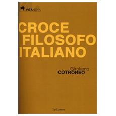 Croce filosofo italiano