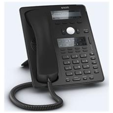 D745 Telefono IP, etichette LCD e Gigabit LAN
