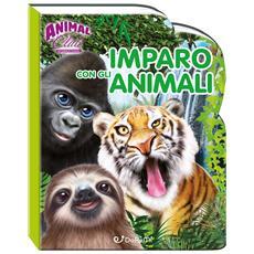 Animal Club International - Cartonato - Imparo Con Gli Animali