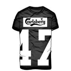 T-shirt Uomo Con Numero S Nero