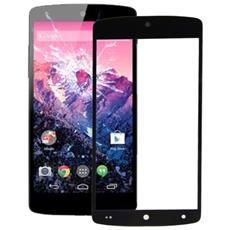 Vetro Di Ricambio Nero Per Lg Nexus 5