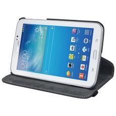 Custodia con Stand e rotazione a 360° per Galaxy Tab 3 7.0 - Nero