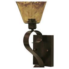 Lanterna Lampedusa A Muro Per Interno Colore Bronzo Anticato