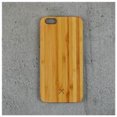 Cover in Legno per iPhone 6 Plus / 6S Plus Colore Bambù e Nero